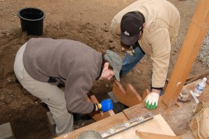Contractor Hotline volunteering on Habitat for Humanity's Everett building projects