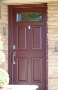 Entry Door Replacement (Steel)
